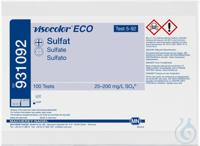 VISO ECO Sulfate VISOCOLOR ECO Sulfate turbidity test kit measuring range:...