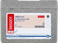 NANO Zirconium 100 NANOCOLOR Zirconium 100 tube test measuring range: 5-100...