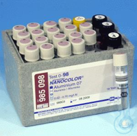 NANO Aluminium 07 NANOCOLOR Aluminium 07 tube test measuring range: 0.02-0.70...