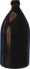Spare bottles f.Schilling, narrow neck, PE, w/o cap, GL25, 500ml, amber Spare...