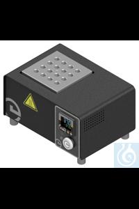 Metallblockthermostat MT-130-16/8-0,5/8-1,5 Epptherm® Mini mit fest eingebautem  Der Epptherm®...