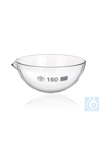 SIMAX Crystalizing dish, without spout, Diam. 80mm, 10/PK  Erzeugnisse aus...