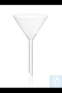 SIMAX-Trichter Borosilikatglas 3.3, 200mm, 6St.  Das SIMAX Borosilikatglas...