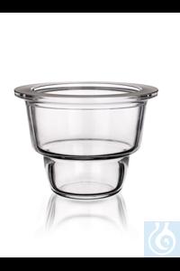 Exsikkatorunterteil nur Glas, 100mm DIN Exsikkatorunterteil nur Glas, 100mm DIN