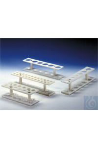 2Panašios prekės Centrifuge Tube Rack for 24 tubes 2 rows, 18mm diam., (WxHxD) 315x65x60mm, PP...