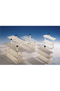 3Articles like: Rack PP white for butyrometers, 30 bores, 26mm diameter, suitable for water...