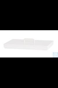 4Artikel ähnlich wie: Flachdeckel/PP weiß, mit Griff, (Zubehör für Wasserbad Ecotherm/E10)  PP...