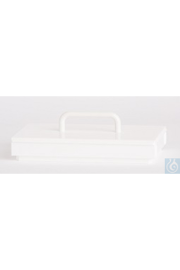 Flat lid PP white, with handle, for E5, VGKL number: 443243005 Flat lid PP...