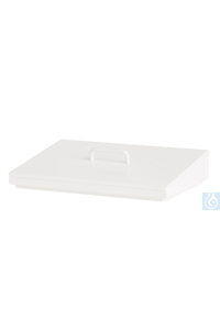 4Artikelen als: Slant lid PP white, with handle, for E10 Slant lid PP white, with handle, for...