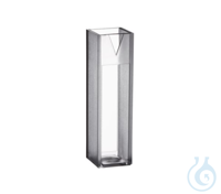 Macro Vis Cuvettes 300 nm- 900 nm Plastic cuvette for measurements in the Vis...