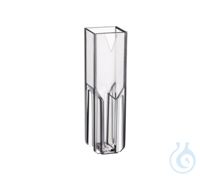 Semi-micro Vis Cuvettes 300 nm- 900 nm Plastic cuvette for measurements in...