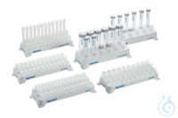 Cuvette Rack, 30 wells (3 rows of 10 wells each), 2 pcs., white, autoclavable...
