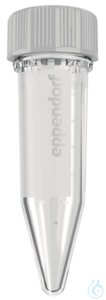 Eppendorf Tubes® 5.0 mL with screw cap, Starter Pack, PCR clean, 400 Tubes,2...