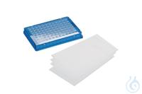 Heatsealing Foil (Pierce and Peel), 100 Eppendorf Heat Sealing Foil, PCR clean, 100 Stück...
