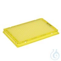 25 PCR Plate 384,gelb Eppendorf twin.tec® PCR Plate 384, skirted, 40 µL, PCR clean, gelb, 25...