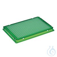 25 PCR Plate 384,grün Eppendorf twin.tec® PCR Plate 384, skirted, 40 µL, PCR clean, grün, 25...