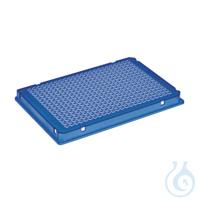 25 PCR Plate 384,blau Eppendorf twin.tec® PCR Plate 384, skirted, 40 µL, PCR clean, blau, 25...