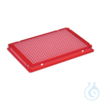 25 PCR Plate 384,rot Eppendorf twin.tec® PCR Plate 384, skirted, 40 µL, PCR clean, rot, 25 Stück...