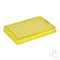 25 PCR plate 96,gelb skirted Eppendorf twin.tec® PCR Plate 96, skirted, 150 µL, PCR clean, gelb,...