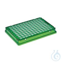 25 PCR plate 96,grün skirted Eppendorf twin.tec® PCR Plate 96, skirted, 150 µL, PCR clean, grün,...