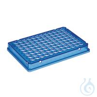 25 PCR plate 96,blau skirted Eppendorf twin.tec® PCR Plate 96, skirted, 150 µL, PCR clean, blau,...