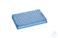 Eppendorf twin.tec® PCR Plate 96 LoBind, skirted, PCR clean, blue, 25pcs....