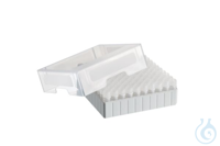 Storage Box 10 x 10, for 100 tubes, 3 pcs., height 52.8 mm, 2 inch,...