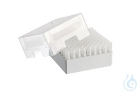 Storage Box 9 x 9, for 81 tubes, 2 pcs., height 76.2 mm, 3 inch,...