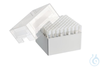 Storage Box 9 x 9, for 81 tubes, 2 pcs., height 101.6 mm, 4 inch,...
