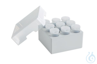 Storage Box 3 x 3, for 9 tubes, 2 pcs., height 88.9 mm, 3.5 inch,...