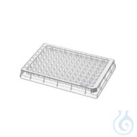 Microplate96/U-PP klar/weiss PCR 80Pl.