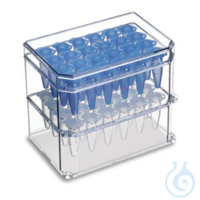 4 ISORACK 0,5 ML IsoRack, 4 Racks plus 4 Deckel 0,5 ml, Set