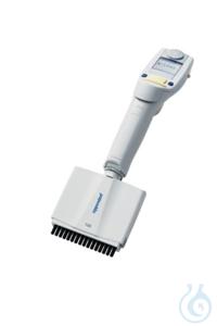 Eppendorf Xplorer® plus, 16-channel, variable, 5 – 100 µL, light yellow...