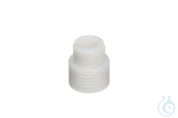 Flaschengewindeadapter GL32 auf GL38ETFE Bottle thread adapter, from GL 32 to GL 38, ETFE