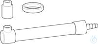 Dry tube (not filled), including sealing ring (PTFE) , for Varispenser 2(x),...