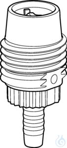 Aspirating valve for 2mL, 5mL or 10mL Varispenser 2(x) made of PFA,...