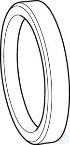 PTFE sealing ring for valve block for Varispenser 2(x), all sizes PTFE...