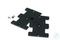 Rubber base plate, 2 pcs. Rubber base plate, 2 pcs.