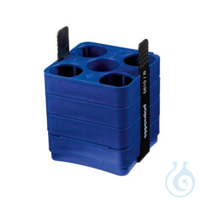Adapter for 500 mL rectangular bucket for use with 5x50ml Falcon tubes, 2...