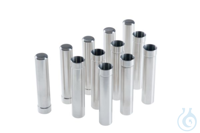Steel sleeves incl. adapters for 15 mL tubes, for rotor F-35-48-17, set of 24...