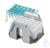 Adapter for 1,5/2 ml tube in the IsoRack, 2 pcs. Adapter for 1,5/2 ml tube in...