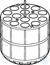 Adapter for 14 x 15 mL conical tubes, for rotor S-4-104, S-4x750, S-4x1000,...