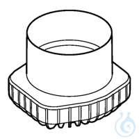 Adapter for 500 mL conical bottle from Corning, for S-4xUniversal rotor, set...