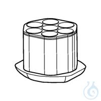 Adapter for 50 mL tubes with skirted bottom, Centriprep, 30 mL Oak Ridge, for...