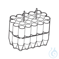 Adapter 15 mL conical tubes, for non-aerosol tight application, for rotor...