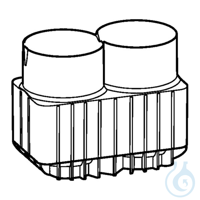 Adapter for 250 mL flasks and 175-225 mL conical tubes for rotor...
