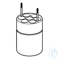 Adapter for 7 x Ø16mm dish- bottomed vessels, for FA-6x250 rotor, 2 pcs. per...