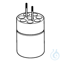Adapter for 8 x Ø13mm dish- bottomed vessels, for FA-6x250 rotor, 2 pcs. per...