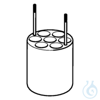 Adapter for 7 x 10 ml Oak Ridge tubes, for FA-6x250 rotor, 2 pcs. per set...