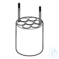 Adapter for 7 x 16 mL Oak Ridge tubes, for FA-6x250 rotors, 2 pcs. per set...